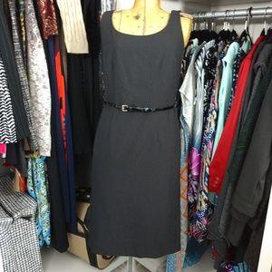 Jessica Howard Sleeveless Shealth Dress with Belt